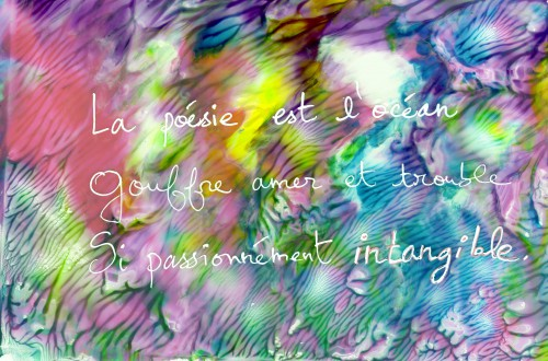 haïku, poésie, mer, peinture