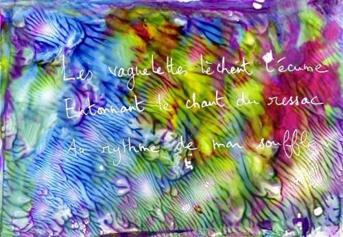 haïku marin, mer, poésie, peinture