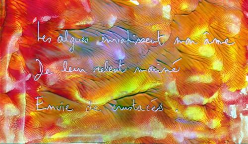 poésie, haïku, mer, peinture